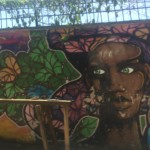 Graffiti art in Santa Teresa